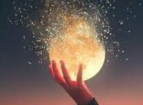 Роковая Супер Луна в день, когда Полнолуние в апреле 2020 года
