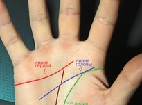 ТЕСТ: линии на руке и их значение в картинках