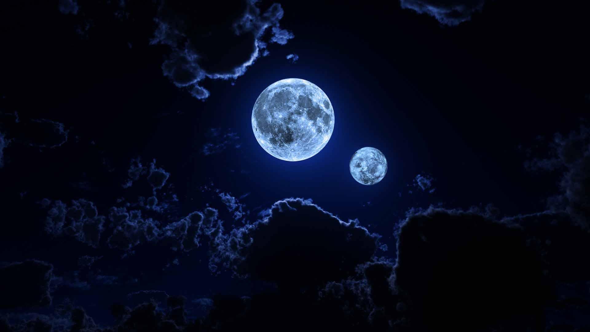 тесное оформление картинки два луны этой