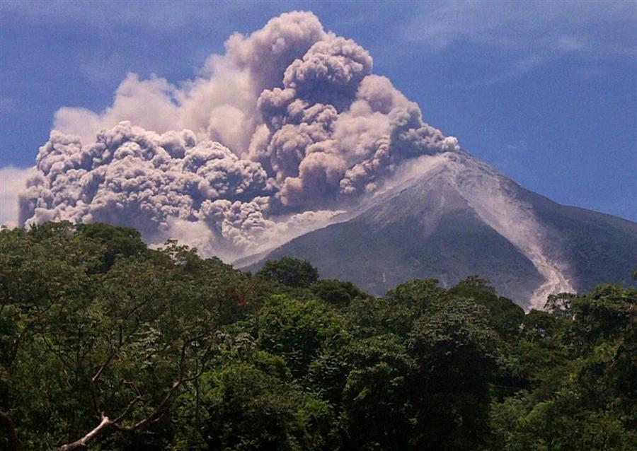 извержение вулкана гватемала