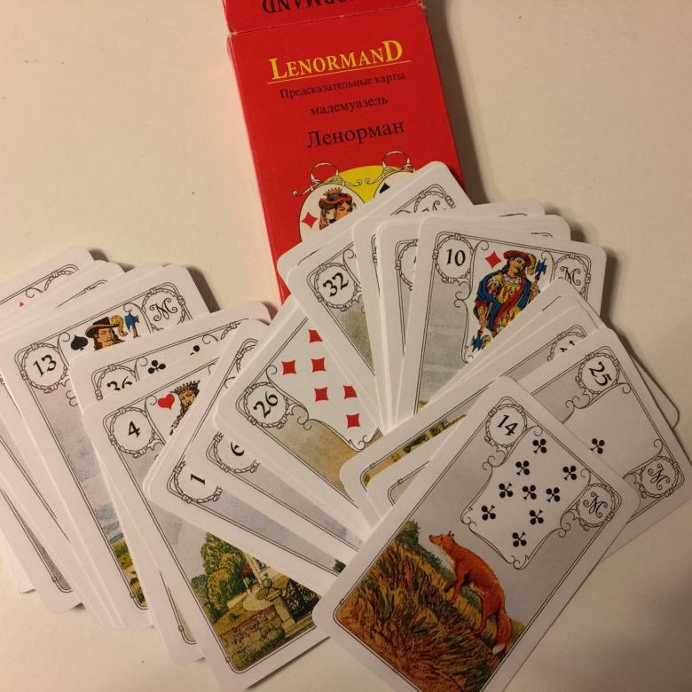 Оракул Ленорман: описание колоды и принцип гадания