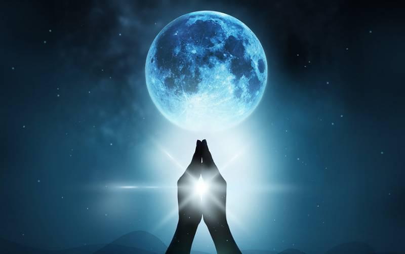 Голубая Луна в марте 2018 года!
