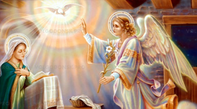 Благовещение пресвятой Богородицы в 2019 году