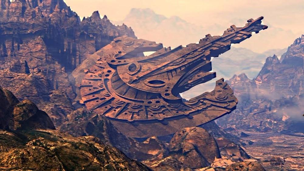 В Гранд-Каньоне обнаружен инопланетный корабль!