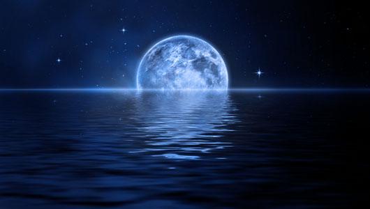 Голубая Луна в январе 2018