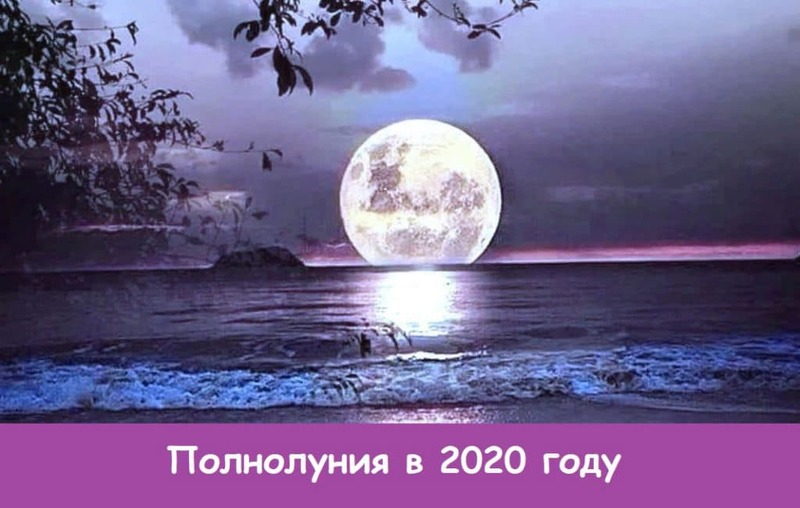 Роковая Супер Луна в день, когда Полнолуние в марте 2020 года