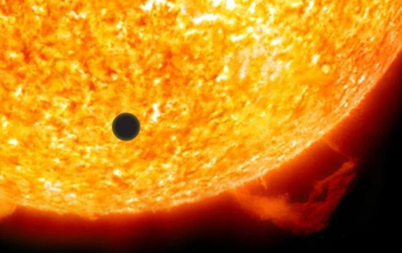 Ретроградный Меркурий в ноябре 2019: прохождение Меркурия по диску Солнца
