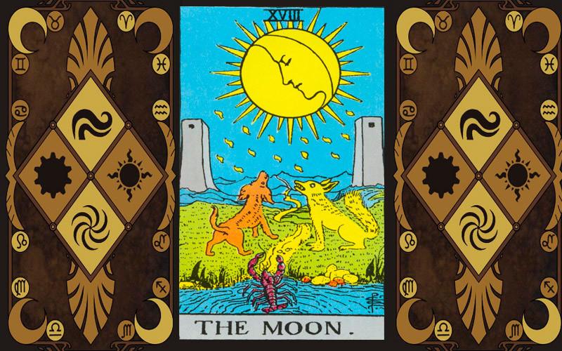Луна. Значение карты Таро